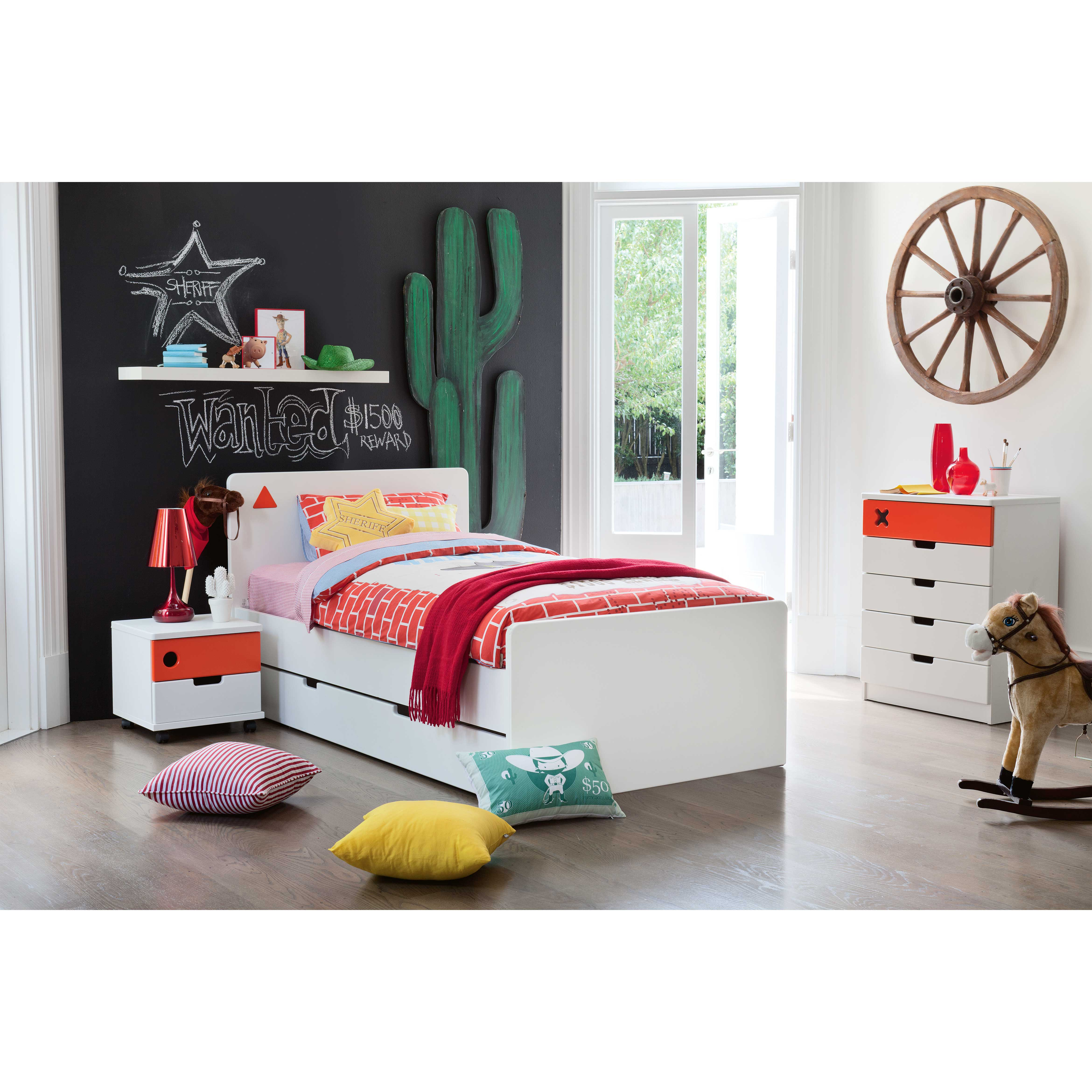 'Junior Options' Single Bed with Trundle