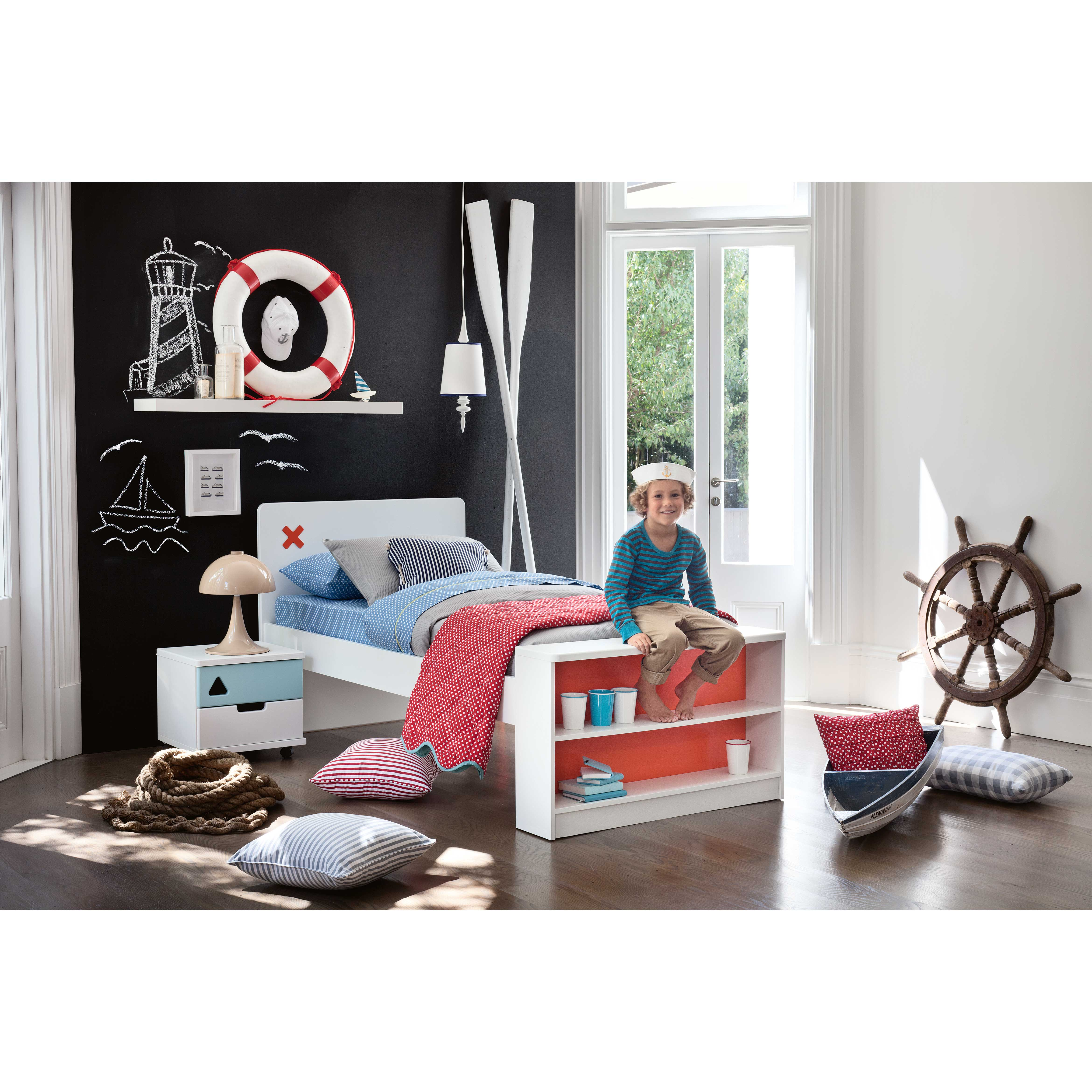 'Junior Options ' Single Bed with Bookcase