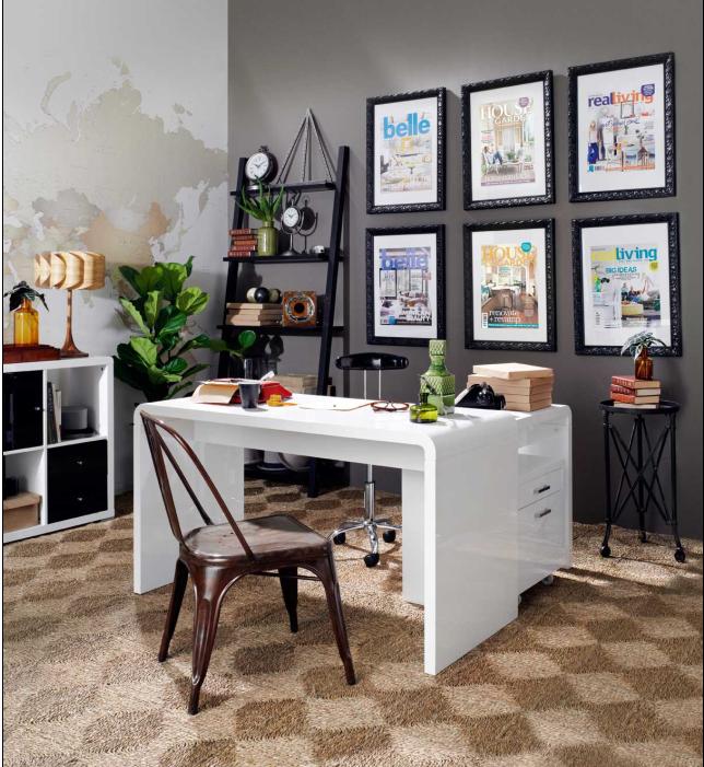 long home office desk. Featured Above: \u0027Omega\u0027 Curved Home Office Desk Long Home Office Desk