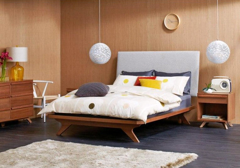 Discover your winter bedroom style domayne style insider for Retro style bedroom furniture